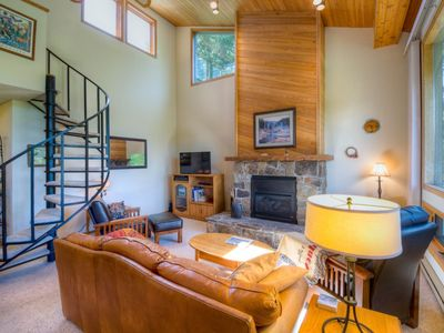 Photo for Spacious Hidden Village Condo with Beautiful Views of Lone Peak