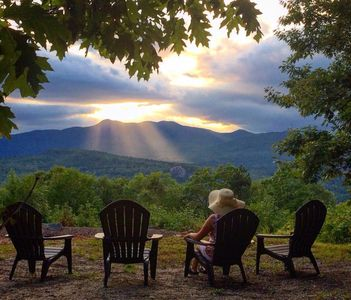 Photo for Breathtaking Panoramic Views of the Mountain Range! Best Sunsets, Sleeps 11!