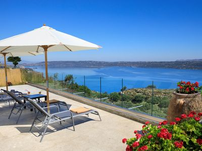 Photo for Villa Kelaidis with Private Pool, Peaceful Location and Amazing Sea Views