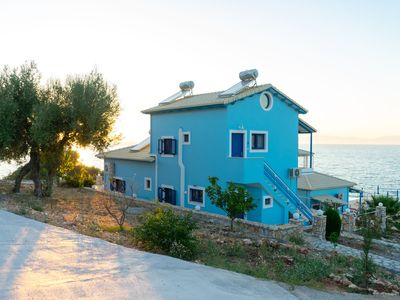 Photo for Waterfront Apartment in Central Greece with Swimming Pool