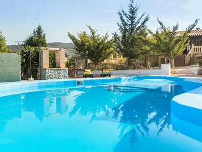 Photo for Finca Can Pep - large private pool 5 x 15m, quiet location, W-LAN