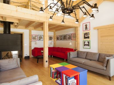 Photo for Magnificent new luxury chalet at the foot of the slopes of SAINT NICOLAS DE VEROCE