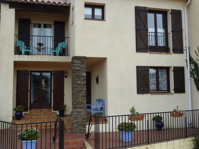 Photo for Spacious 3 Bedroom House w/Large Sunny Private Terrace in Collioure