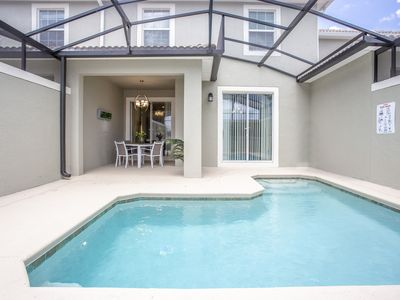 Photo for Wonderful Family Getaway 4Bd with Pool Close To Disney 4987
