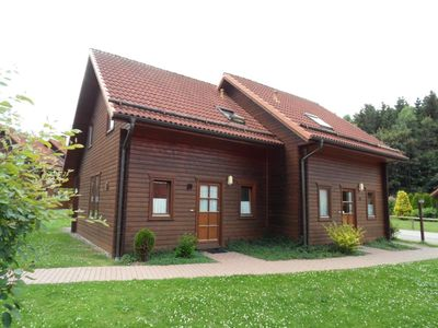 Photo for cozy wooden cottage in the Harz, 2 bedrooms, 2 bathrooms, 6 pers
