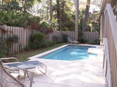 Photo for Sea Pines 5th Row from the Beach, Private Pool, Free Hot Tub, Grill, Foosball