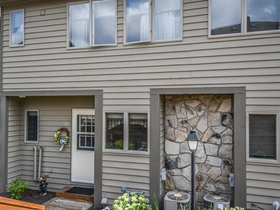Photo for Walk to Wisp Resort from this lake access townhome!