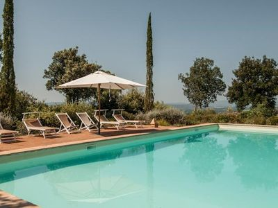 Photo for CHARMING VILLA near Montalcino with Pool & Wifi. **Up to $-2252 USD off - limited time** We respond 24/7