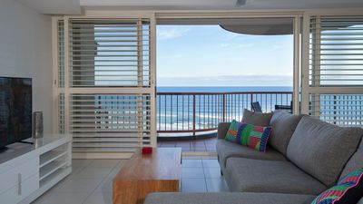 Photo for Villa Seascapes - 4 Levels + private sundeck with the best beach views in Coolum