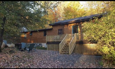 Photo for Placid Cabin In The Heart of The Village - Sleeps 7 Comfortably