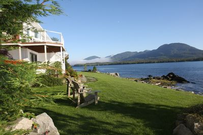 Anchor Inn by the Sea - our guests love the yard and the view.