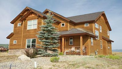 Photo for Beautiful Home, Amazing Views Close to Skiing, Golfing, Biking and Much More