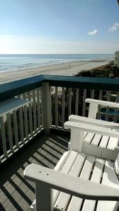 Photo for Ocean front Million dollar view! Cozy couples retreat!