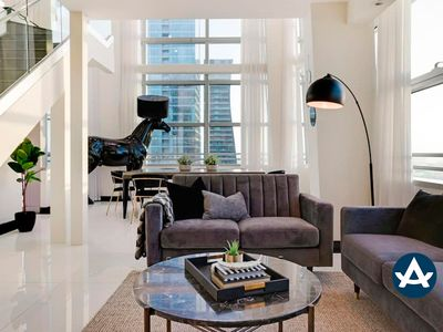 Photo for Sextant | Conrad Brickell Penthouse | 3 bedrooms | 10 mins to South Beach