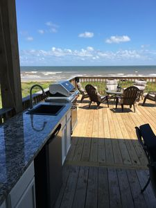Photo for New Beachfront - Pirate's Treasure - 5 bedroom, large deck with Outdoor Kitchen