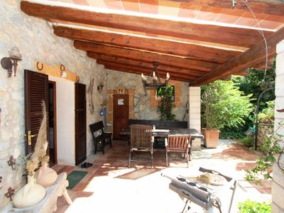Photo for Charming natural stone finca on idyllic grounds
