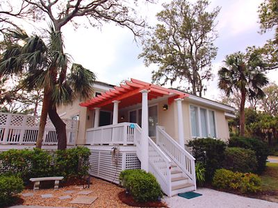 Photo for Steps to Ocean and Shops, comfortable and stylish home with free heated pool!