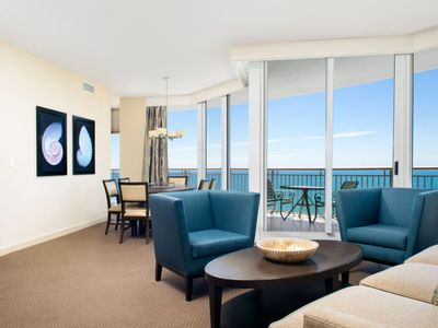Photo for Sunny Isles Beach Apartment, Sleeps 6 with Pool, Air Con and WiFi