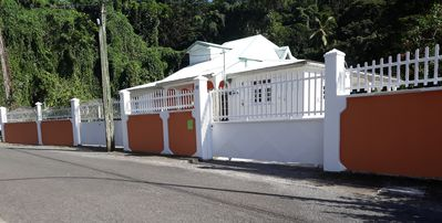 Photo for Creole family villa with garden, river and rainforest in Pointe Noire