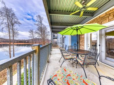 Photo for Expansive dog-friendly condo w/ lake views, shared pool, hot tub, & dock access!