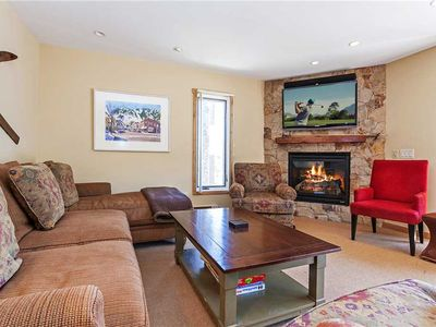 Photo for Mountain Style Condo with Shuttle Service, Private Balcony and Great Amenities