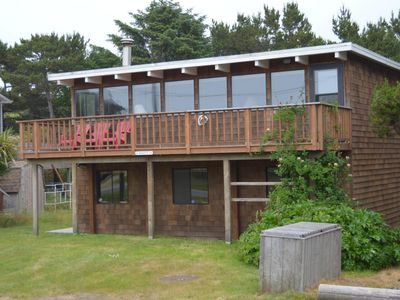 Photo for Four Bedroom Ocean View in Neskowin Village Across Street From Beach Access