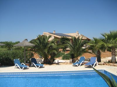 Photo for Dreamlike vision, idyllic quiet, with pool and luxurious facilities