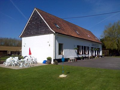Photo for Self catering apartment near Montreuil/Le Touquet in the beautiful course valley