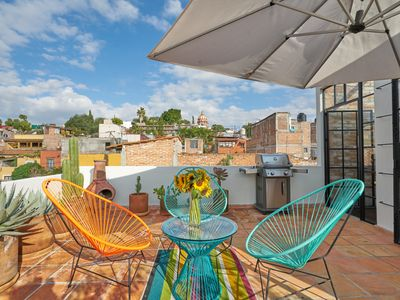 Photo for Lovely NY Loft-Style Home in Heart of San Miguel