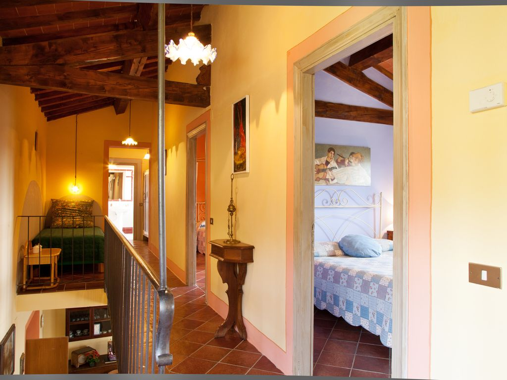 presitigous tuscan villa vacation rental with dominant panoramic