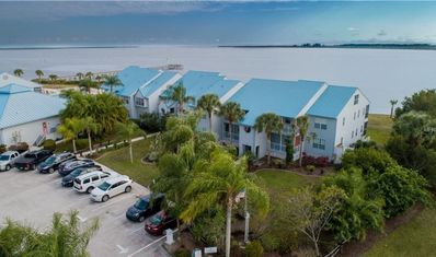 Photo for Beautiful water front condo looking over Port Charlotte Harbor