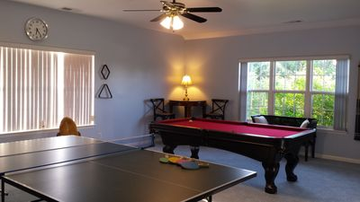 Hours of fun with the Pool Table & Ping Pong Table