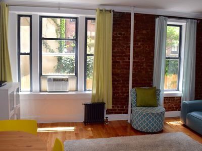 Photo for Chelsea-Manhattan - Spacious duplex with private patio!