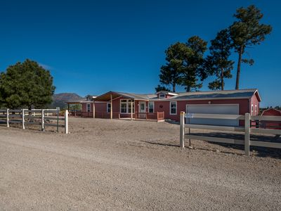 Photo for Mountain Top Ranch Home w/ Covered Back Deck and Spectacular Views