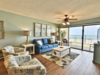 Photo for Gulf Gate 2 BR Pet Friendly Condo! Beach Front and Pet Friendly