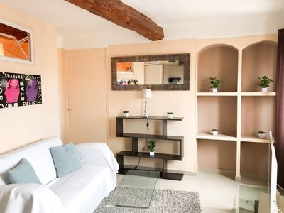 Photo for 2 bedrooms apt facing Palais, CANNES