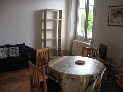 Photo for 2 rooms located on the 1st floor of a building facing the old stables of Strasbourg.