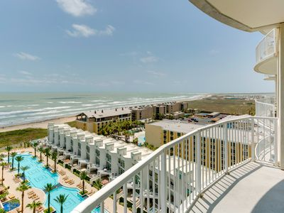 Photo for Breathtaking ocean view from the 11th floor w/ shared pool and hot tub