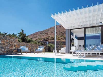 Photo for Delight Suite, in luxury complex in Crete, with private pool, 1 bedroom, 2 sleeps