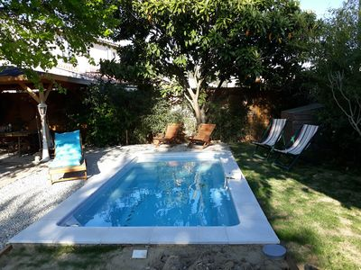 Photo for small mazet in provence with swimming pool