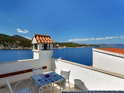 Photo for Apartment 7922  C(4+3)  - Cove Pokrivenik, Island Hvar, Croatia