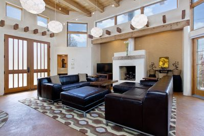 Opera House -Great Room with Gas Fireplace, HDTV & lots of space for entertainme