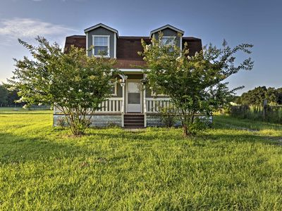 Photo for NEW! Rural 2BR Waco House on Quiet Property!