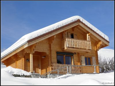 Photo for new chalet Rochejean station Metabief Mont d'Or