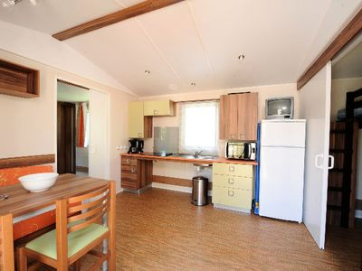 Photo for Camping Odalys l'Elysée *** - Mobile Home 3 Rooms 4/5 People PMR