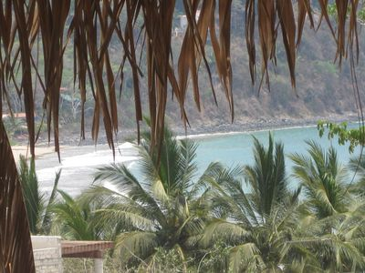 Photo for STEPS TO THE CLEAN BEACH OF CHACALA!