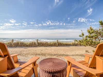 Photo for Oceanfront Beauty Next to Beach Access!