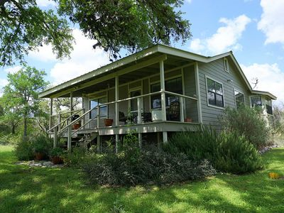 Photo for Secluded 2 Bedroom Cottage On 50 Acre Wildlife Preserve With Hot Tub And Views!