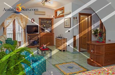 Photo for Charming Large Studio Apartment in AMALFI Main Square!