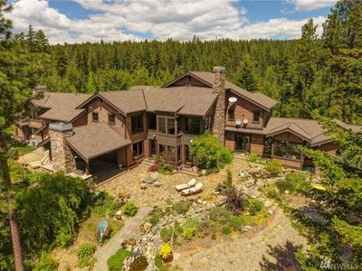 Photo for Elk Ridge Estate, sleeps 24. with 500  acres of private forest to explore